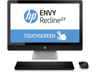 "HP ENVY Recline 27-k320nz 2GHz i5-4590T 27"" 1920 x 1080Pixel Touch screen Argento PC All-in-one"