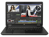 "HP ZBook 17 G2 Base Model IDS 4D 17.3"" Nero Workstation mobile"