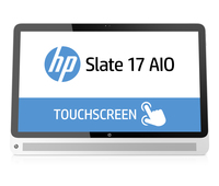 "HP Slate 17-l004nd 1.58GHz N2807 17.3"" 1920 x 1080Pixel Touch screen Argento"