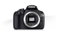 Canon EOS 1200D + EF-S 18-55mm IS STM + EF 50mm f/1.8 II Kit fotocamere SLR 18MP CMOS 5184 x 3456Pixel Nero