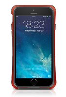 Macally IRONP6MR Custodia con bordo Rosso custodia per cellulare