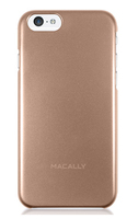 Macally SNAPP6MCH Cover Oro, Metallico custodia per cellulare