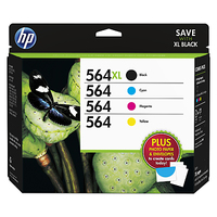HP 564XL/564 Super Combo-pack cartuccia d