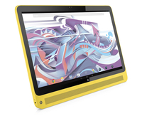 "HP Slate 17-l020 1.58GHz N2807 17.3"" 1920 x 1080Pixel Touch screen Nero, Giallo PC All-in-one"