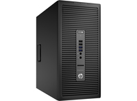 HP EliteDesk 705 G1 3.8GHz A4 PRO-7300B Microtorre Nero PC