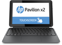 "HP Pavilion x2 10-k007nf 1.33GHz Z3736F 10.1"" 1280 x 800Pixel Touch screen Argento Ibrido (2 in 1)"