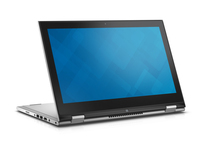 "DELL Inspiron 7347 1.7GHz i3-4010U 13.3"" 1366 x 768Pixel Touch screen Argento Computer portatile"