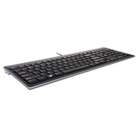 Kensington Advance Fit USB QWERTY Inglese Nero tastiera