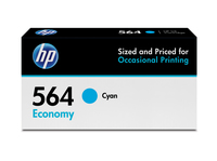 HP 564 Economy Cyan Original Ink Cartridge cartuccia d