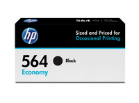 HP 564 Economy Black Original Ink Cartridge cartuccia d