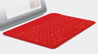 Logitech Keys-To-Go Bluetooth Inglese Rosso tastiera per dispositivo mobile