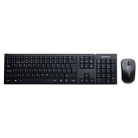 Hiditec KM300 RF Wireless QWERTY Nero tastiera