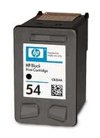 HP 54 Black Inkjet Print Cartridge Nero cartuccia d
