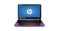 "HP 15-r137wm TouchSmart 1.7GHz i3-4005U 15.6"" 1366 x 768Pixel Touch screen Porpora Computer portatile"