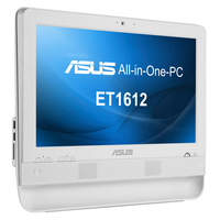 "ASUS ET ET1612IUTS-W005C 1.6GHz 1017U 15.6"" 1366 x 768Pixel Touch screen Bianco PC All-in-one All-in-One PC"