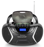 AudioSonic CD-1596 Digitale 6W Nero radio CD