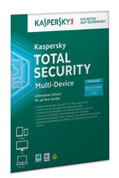 Kaspersky Lab Total Security Multi-Device Full license 3utente(i) 1anno/i Tedesca