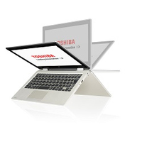 "Toshiba Satellite Radius 11 L10W-B-101 2.16GHz N2840 11.6"" Touch screen Oro Ibrido (2 in 1)"