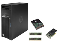 HP DWS BUNDEL Z440 tower 6Core 3.5GHz CPU, NVIDIA K2200, 32GB geheugen, 256GB PCIe SSD, 1TB HDD (G1X59ET+J3G88AT+2xJ9P82AT+LQ037AT) 3.5GHz E5-1650V3 Mini Tower Nero Stazione di lavoro