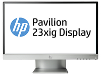 "HP Pavilion 23xig 23"" Full HD IPS Argento monitor piatto per PC"