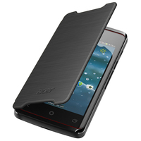Acer Liquid Z200 Flip Cover Black Custodia a libro Nero