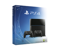 Sony Playstation 4 500GB B CHASSIS + DS4 500GB Wi-Fi Nero