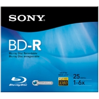 Sony BNR25R3H 25GB BD-R disco vergine Blu-Ray
