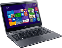 "Acer Aspire R3-471TG-572W 1.7GHz i5-4210U 14"" 1366 x 768Pixel Touch screen Grigio Ibrido (2 in 1)"