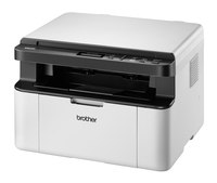 Brother DCP-1610WE 2400 x 600DPI Laser A4 20ppm Wi-Fi Nero, Bianco multifunzione
