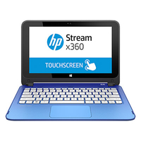 "HP Stream 11-p010na 2.16GHz N2840 11.6"" 1366 x 768Pixel Touch screen Blu Ibrido (2 in 1)"