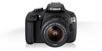 Canon EOS 1200D + EF-S 18-55mm f/3.5-5.6 IS II + EF-S 55-250mm f/4-5.6 IS STM Kit fotocamere SLR 18MP CMOS 5184 x 3456Pixel Nero