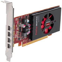 DELL 490-BCHO FirePro W4100 2GB GDDR5 scheda video