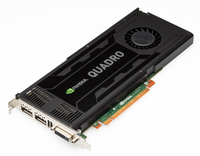 DELL 490-BCGE Quadro K4200 4GB GDDR5 scheda video