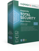 Kaspersky Lab Total Security Multi-Device Full license 1utente(i) 1anno/i Tedesca