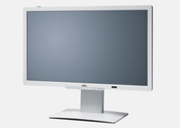 "Fujitsu P Line P24T-7 LED 24"" Full HD Bianco monitor piatto per PC"