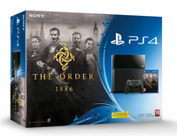 Sony 500GB PlayStation 4 + The Order: 1886 500GB Wi-Fi Nero