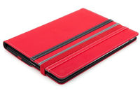 "NGS Red Duo Plus 10.1"" Custodia a libro Grigio, Rosso"
