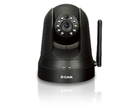 D-Link Home Monitor 360 IP security camera Interno Cupola Nero