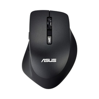 ASUS WT425 RF Wireless Ottico 1600DPI Mano destra Nero, Carbonella mouse