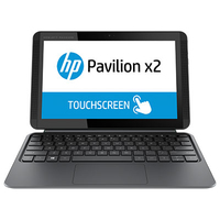 "HP Pavilion x2 10-k000nc 1.33GHz Z3736F 10.1"" 1280 x 800Pixel Touch screen Grigio Ibrido (2 in 1)"
