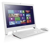 "Lenovo IdeaCentre C240 1.6GHz 1017U 18.5"" 1366 x 768Pixel Bianco PC All-in-one"