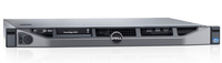 DELL PowerEdge R220 3.4GHz E3-1231V3 250W Rastrelliera (1U) server