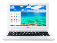 "Acer Chromebook CB3-111-C8XP 2.16GHz N2830 11.6"" 1366 x 768Pixel Bianco Chromebook"