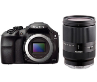 Sony a3000 + Tamron 18 - 200mm Kit fotocamere SLR 20.1MP CMOS 5456 x 3632Pixel Nero