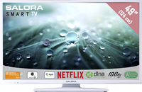"Salora 49LED9112CSW 49"" Full HD Smart TV Bianco LED TV"