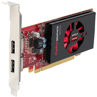 DELL 490-BCJF FirePro W2100 2GB GDDR3 scheda video