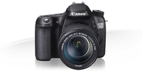 Canon EOS 70D + 18-135mm IS Kit fotocamere SLR 20.20MP CMOS 5472 x 3648Pixel Nero