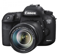 Canon EOS 7D Mark II + EF-S 18-135mm f/3.5-5.6 IS STM Kit fotocamere SLR 20.2MP CMOS 5472 x 3648Pixel Nero
