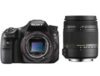 Sony a58 + Sigma 18 - 250mm Kit fotocamere SLR 20.1MP CMOS 5456 x 3632Pixel Nero