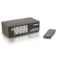 C2G TrulinkT 4-Port UXGA Monitor Switcher/Extender with Audio switch per keyboard-video-mouse (kvm)